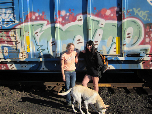 Train Spotting with Lisa Jahn-Clough