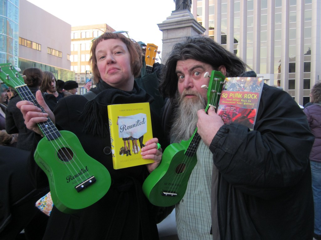Ukulele Lending Library Founders Michael Whittaker and Curious City