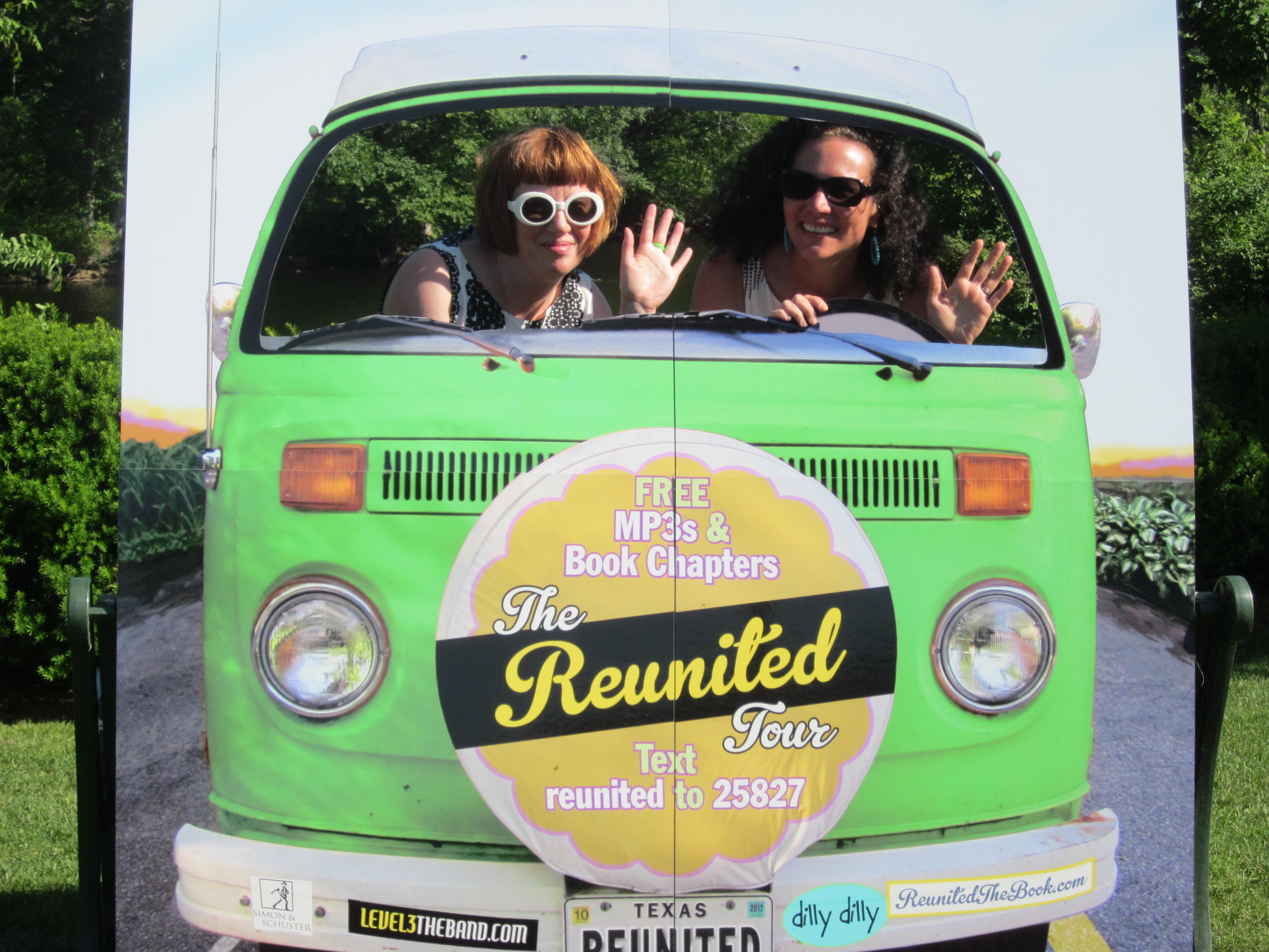 Reunited Tour Bus