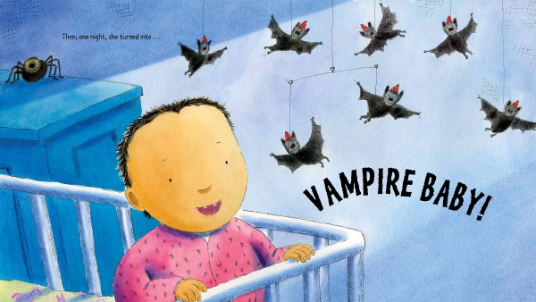 VAMPIRE BABY Illustration © Paul Meisel