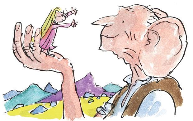 Image result for the bfg book illustrations