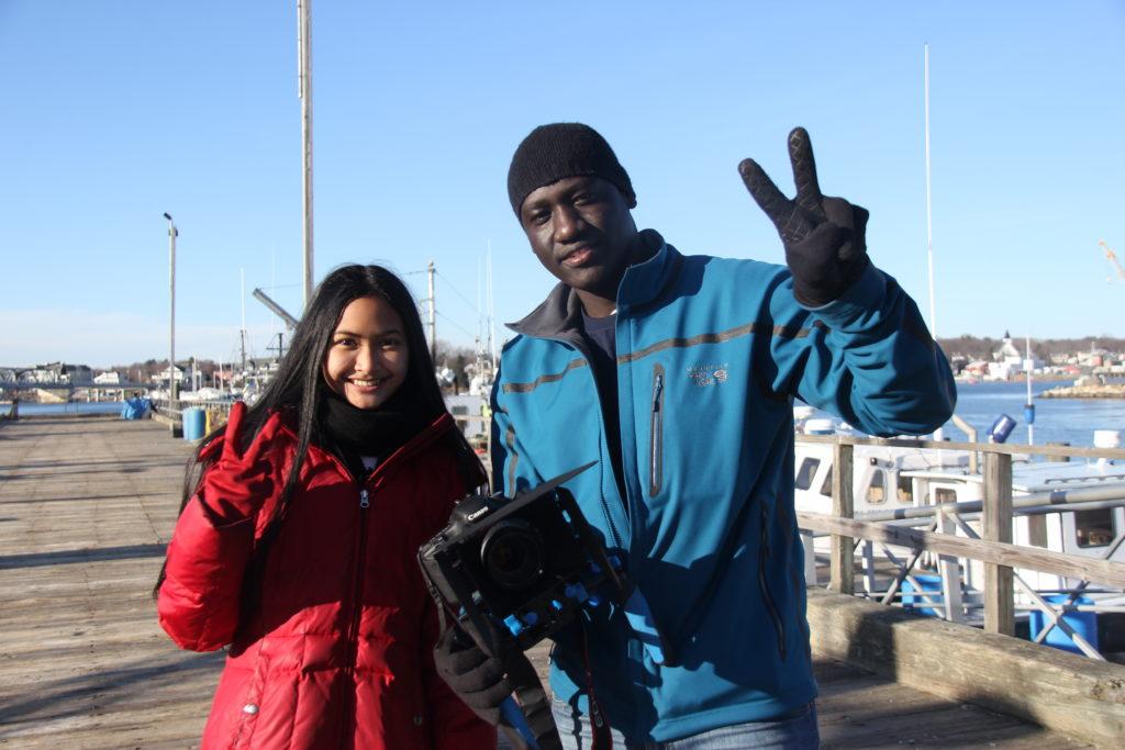 Kornnita Chen and Fred Okot Ben